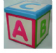 ABC Nursery  Folding Storage / Ottoman Box. X-1041